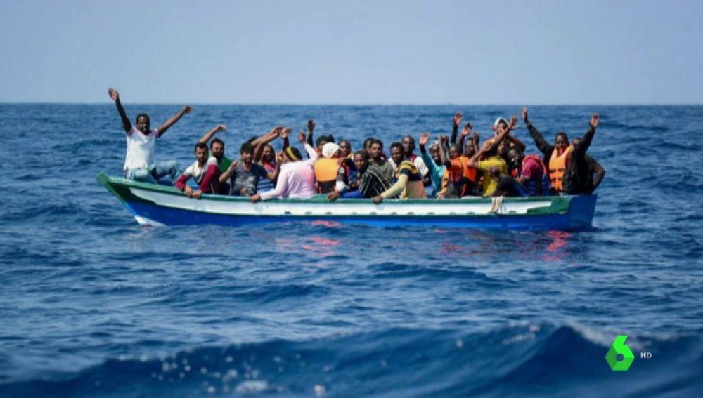 25 migrantes rescatados por el Aquarius