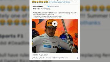 La respuesta de Alonso a Horner