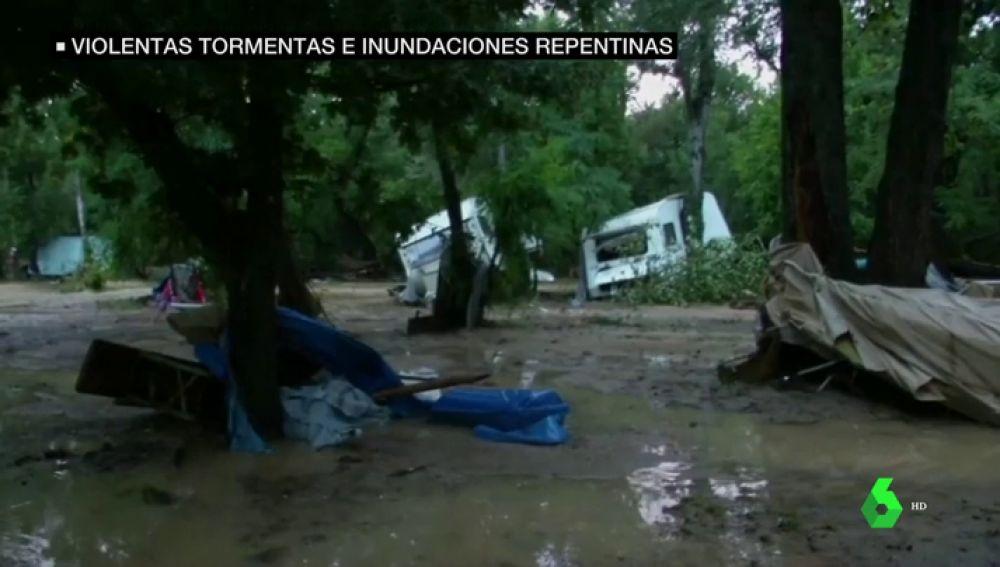 Dos desaparecidos y 1.600 evacuados por las intensas lluvias en Francia