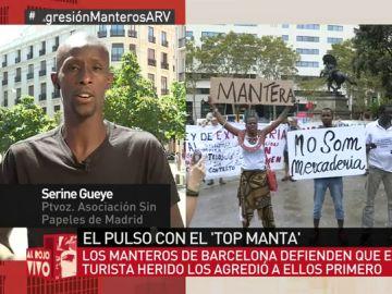 Serine Gueye en Al Rojo Vivo.