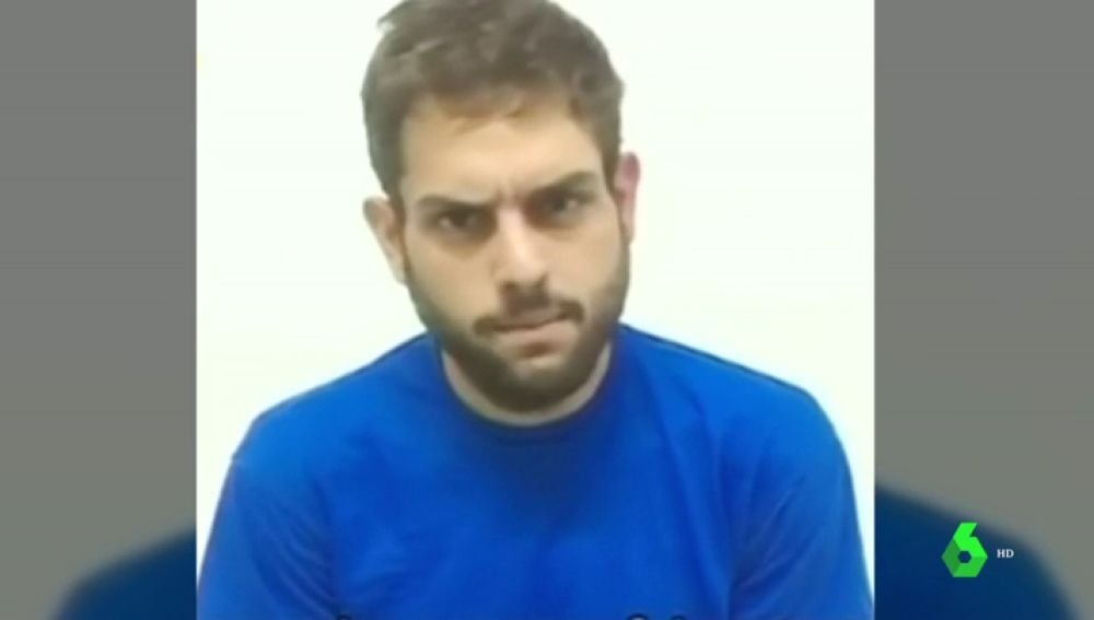 Imagen del vídeo difundido por el Gobierno venezolano con la confesión de un diputado de la oposición por el presunto atentado contra Maduro