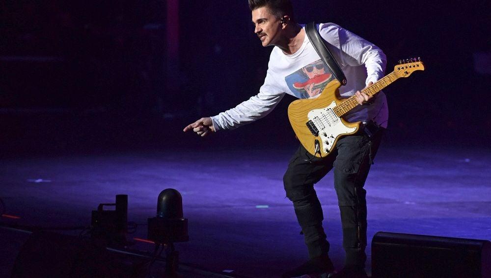 Juanes, durante su concierto en Starlite