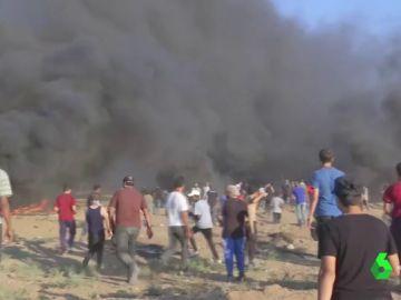 Tres fallecidos, entre ellos un voluntario médico, tras los enfrentamientos en Gaza