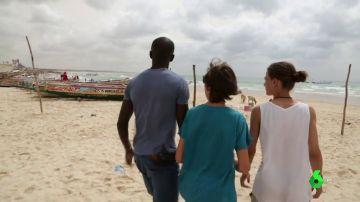 """De Senegal a España, el viaje más difícil de Omar: """"Iba entrando agua y a la vez la íbamos sacando con cubos"""""""