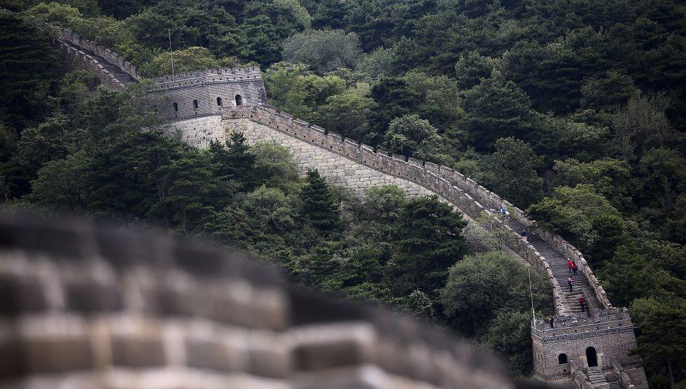 Imagen de la Gran Muralla china