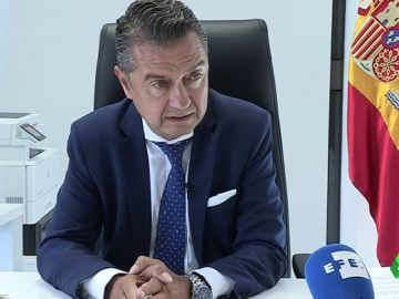 Imagen del portavoz de la Fiscalía de la Audiencia Nacional
