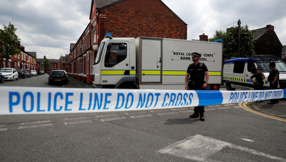 Imagen de la Policía británica