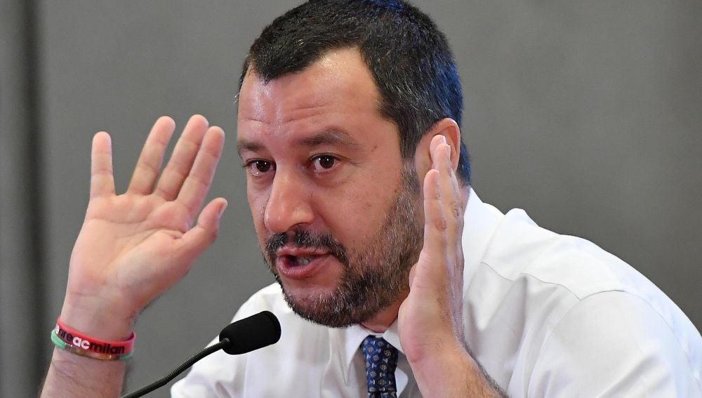 Salvini, ministro de interior italiano