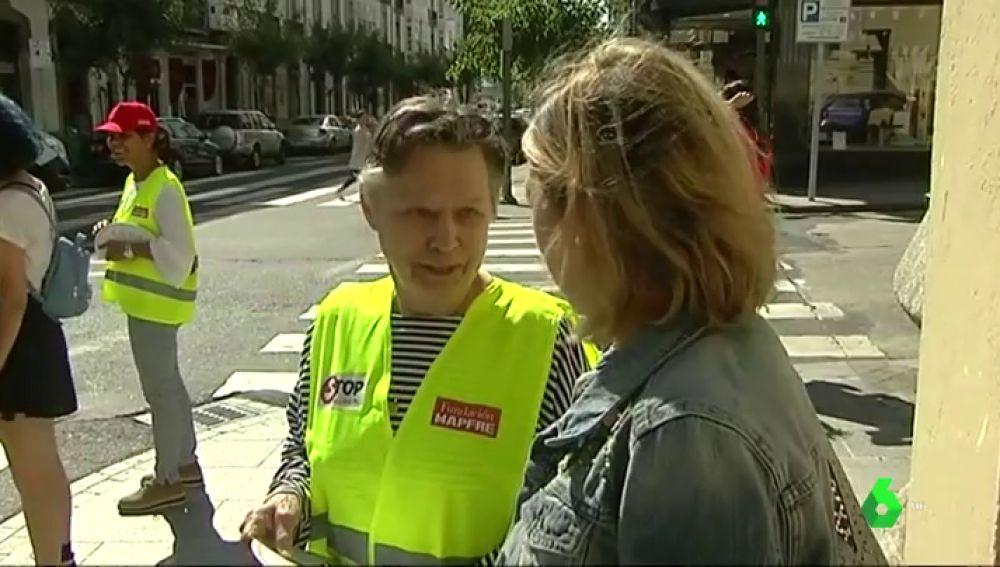 Jeanne, vicepresidenta de Stop Accidentes