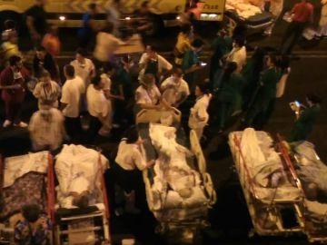 Varios evacuados del Hospital de Tenerife