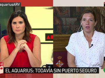 """Barcelona se ofrece a recibir al Aquarius: """"No podemos actuar con pasividad. Hay personas que están esperando en el mar y está en riesgo su vida"""""""