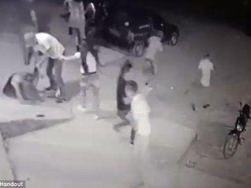 Fotograma del asesinato