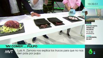 Las ventosas, el color...Luis Alberto Zamora explica los trucos para que no nos vendan pota haciéndola pasar por pulpo