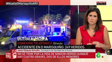 """Jesús vázquez Almuíña, sobre el accidente del 'O Marisquiño': """"Pudo ser una auténtica masacre. Es increíble que no pasara algo más grave"""""""