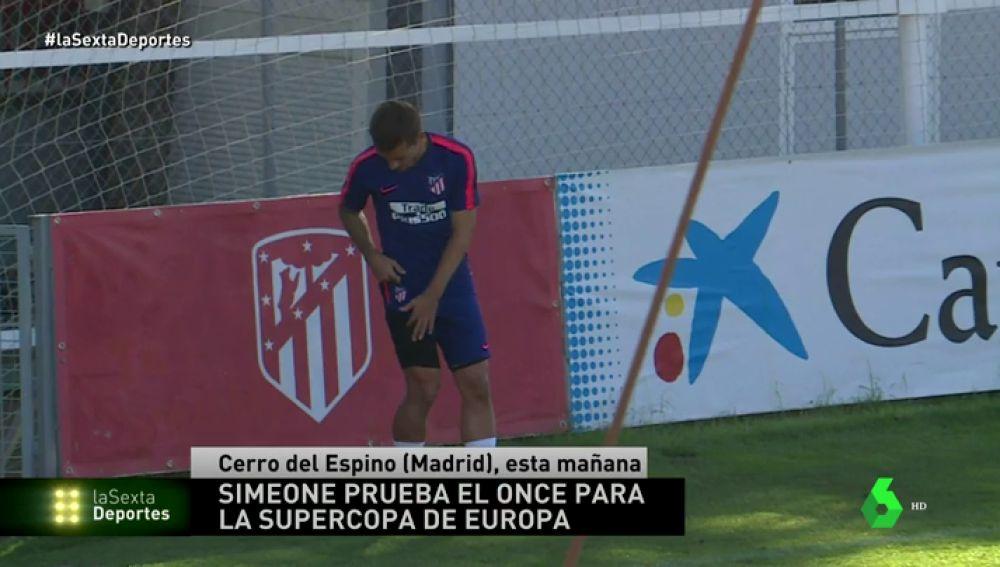 Simeone prueba con Lemar y Rodri de cara a la Supercopa contra el Real Madrid