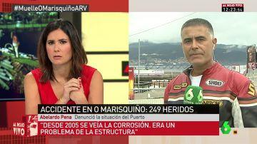 """Un usuario del Puerto de Vigo denució el mal estado de las instalaciones: """"Es la crónica de una muerte anunciada. Desde 2005 ya se veía la corrosión"""""""