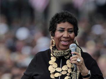 La cantante estadounidense Aretha Franklin en una imagen de archivo