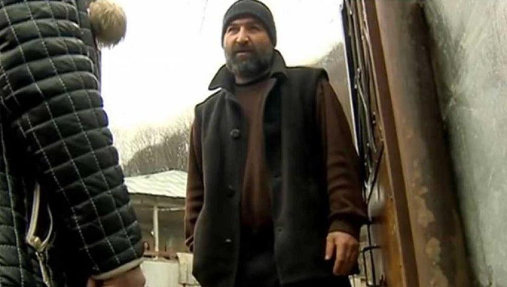 Imagen del georgiano Amirán Devnozashvili, detenido por secuestrar a sus hijos