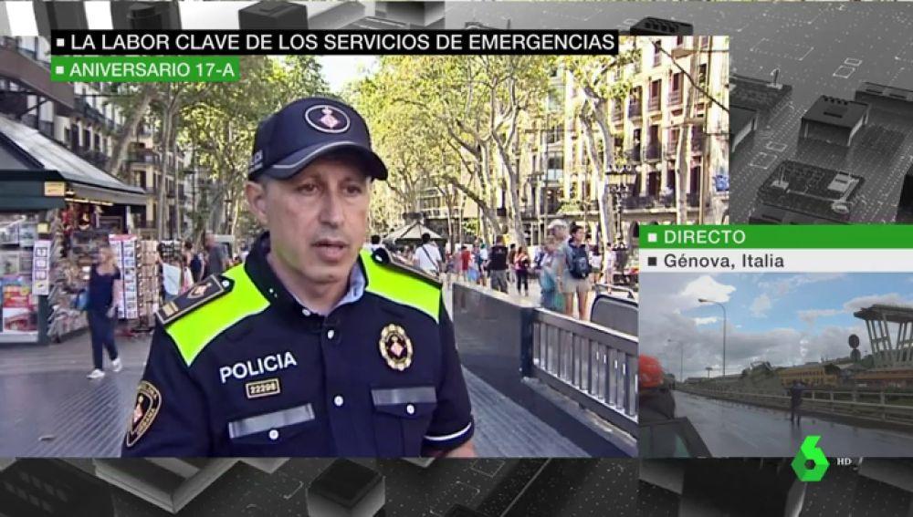 """Los servicios de emergencia recuerdan el atentado de Barcelona: """"Esto es algo que nos acompañará siempre"""""""