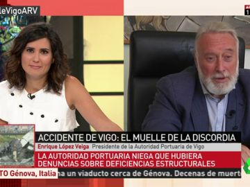 """El presidente de la Autoridad Portuaria: """"Ya no es un muelle, es una zona de paseo, por lo que el mantenimiento corresponde al Ayuntamiento de Vigo"""