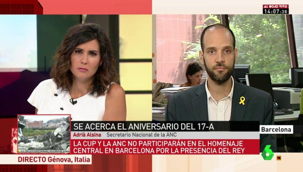 """La CUP y ANC no participarán en el aniversario del 17A por la presencia de Felipe VI: """"La familia del rey está implicada en el tráfico de armas, no tiene nada que hacer aquí"""""""