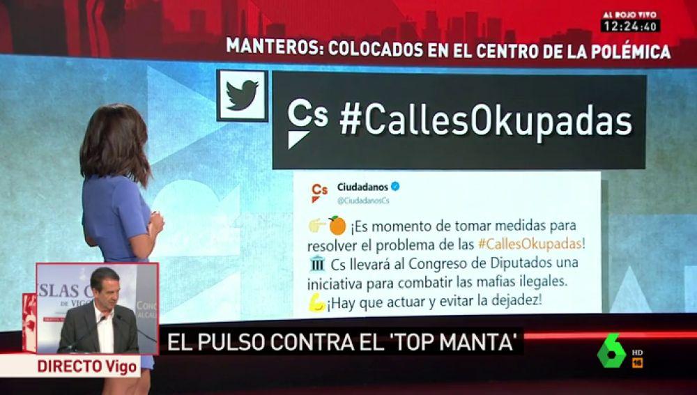 """El PP se suma a la campaña de Ciudadanos contra los manteros de Madrid: """"Hay que luchar contra ese fenómeno porque no es bueno para nuestra convivencia"""""""