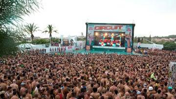 Asistentes al festival Circuit en una imagen de archivo.
