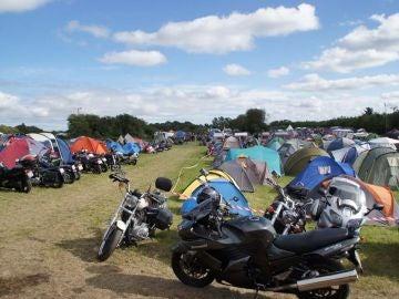 Festival de motos 'Thy Traef' en Dinamarca