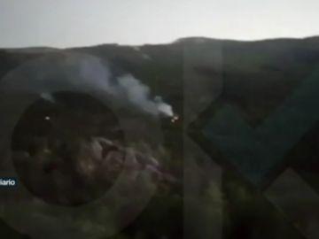 Incendios en los alrededores del Valle de los Caídos