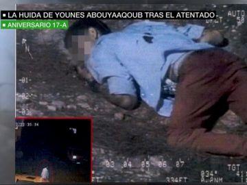 Un equipo de laSexta vuelve con los Mossos al lugar en el que el terrorista de La Rambla fue visto con vida por última vez