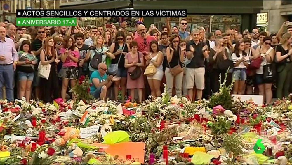Actos sencillos y centrados en las víctimas: así se desarrollarán los homenajes en el aniversario del atentado de Barcelona