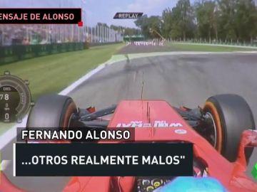 Los dardos de Fernando Alonso en su mensaje de despedida