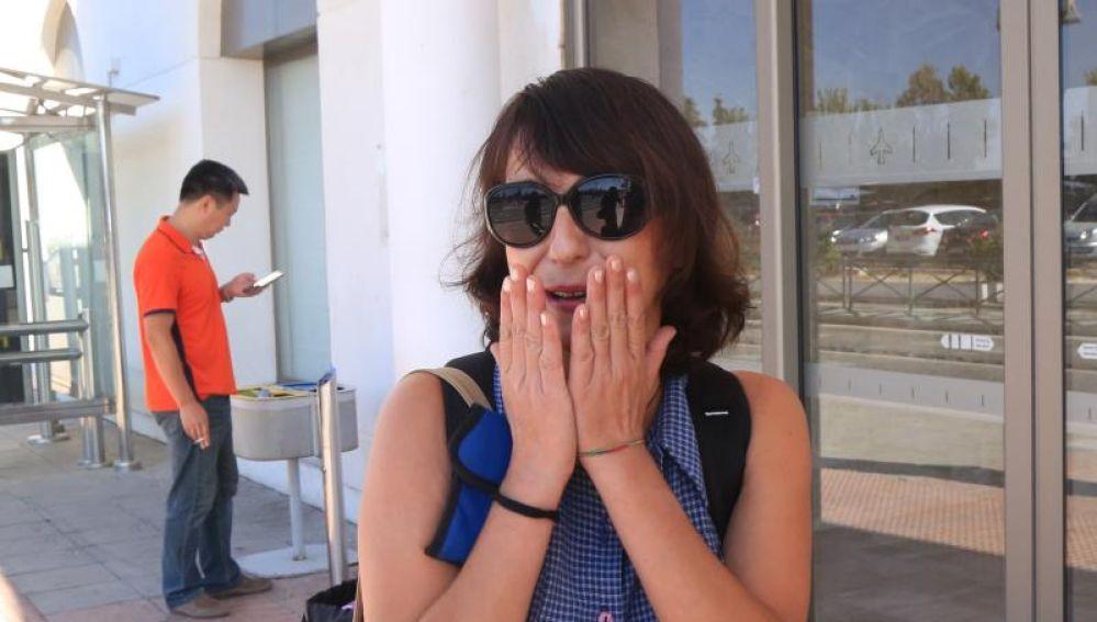Juana Rivas llega a Italia para pasar unas vacaciones con sus hijos