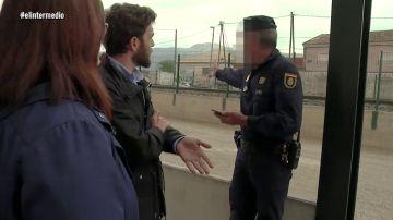 """El día que Gonzo fue testigo del Soterramiento del AVE en Murcia y le interrumpió un policía: """"No me había pasado en la vida"""""""