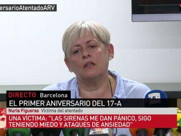 Nuria Figueras fue una de las víctimas de los atentados en Cambrils