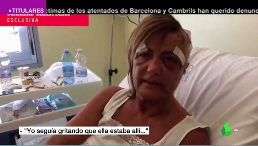 Superviviente del derrumbe del puente Morandi