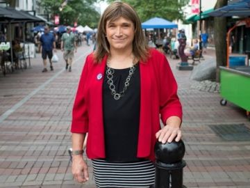 Christine Hallquist.