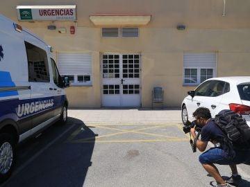 Alrededores del centro de salud de la localidad granadina de Dúrcal
