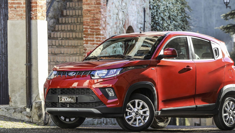 El Mahindra KUV100, ahora desde 9.184 €