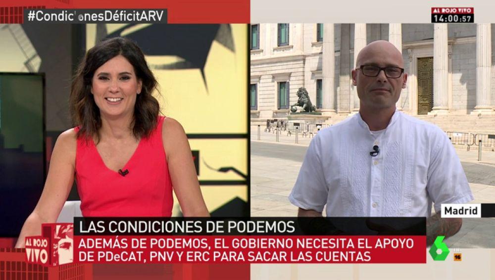 """Txema Guijarro, sobre la propuesta de Podemos: """"No es exclusiva de nuestro ideario, pretende ser un lugar común de las fuerzas progresistas"""""""