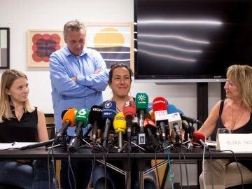 Varias víctimas de los atentados del 17A