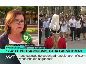 """La alcaldesa de Cambrils, ante las quejas de las víctimas: """"Yo he estado en contacto con las personas más afectadas durante todo el año"""""""