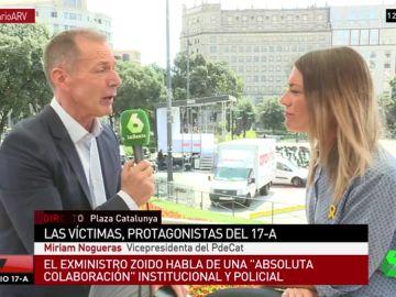 """Miriam Noguera: """"En cualquier país las personas que desarticulan una célula terrorista son premiadas, en España están en prisión"""""""