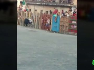 Una mujer recibe una gravísima cornada en las fiestas de Garrovillas de Alconétar, Cáceres