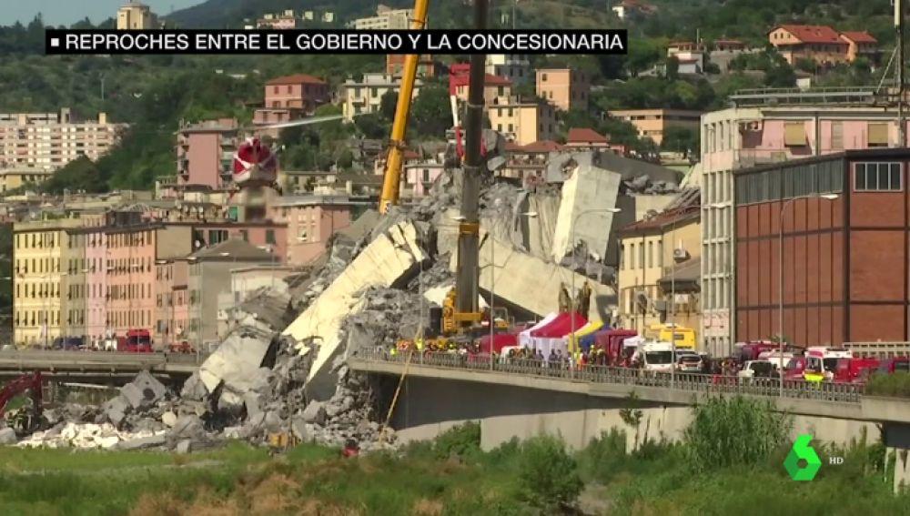 La concesionaria de puente Morandi estaba al tanto del mal estado de la infraestructura desde noviembre del año pasado
