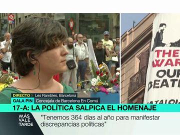 """Gala Pin, sobre la pancarta contra el rey: """"Nosotros no tenemos potestad para retirarla si la propiedad del inmueble no interviene"""""""
