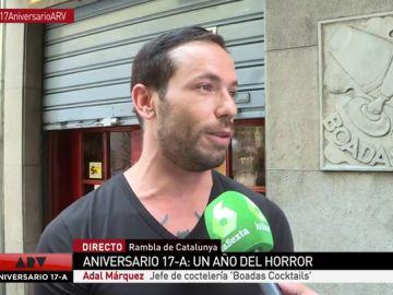 """El trabajador de una coctelería en la que se refugiaron 20 personas: """"Un turista belga rezó una oración y nosotros sacamos champán para tranquilizar a las víctimas"""""""
