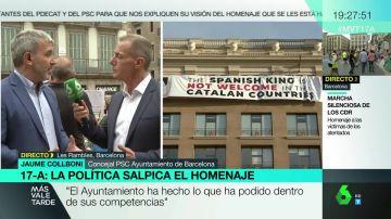 Jaume Collboni en Más Vale Tarde