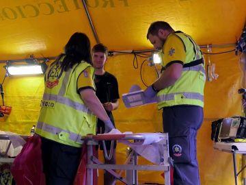 Ambulancias trata a un chico con poliglobulia