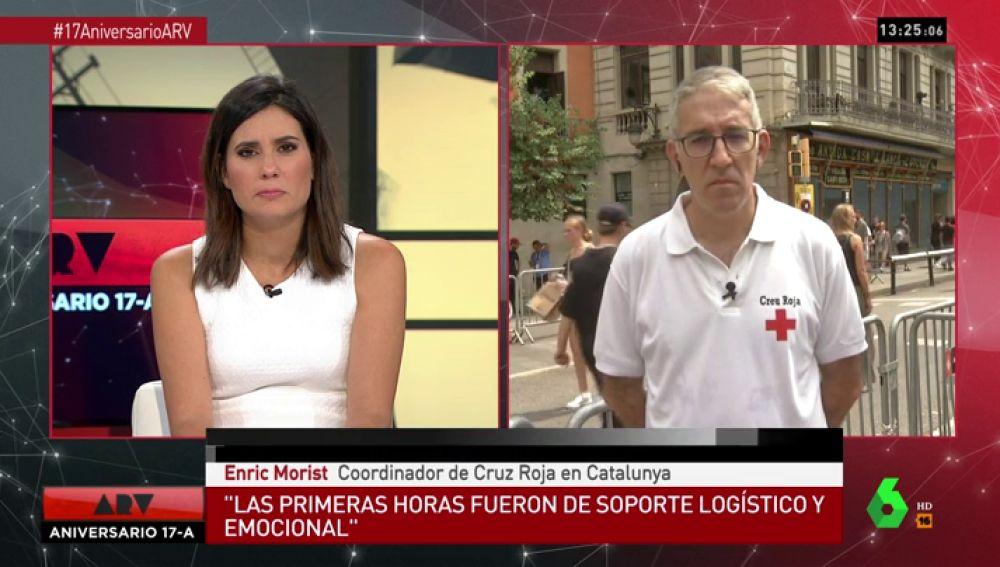 """Habla el coordinador de Cruz Roja Catalunya en el aniversario del 17A: """"Cada persona tiene una fortaleza, pero es imposible recuperarse"""""""